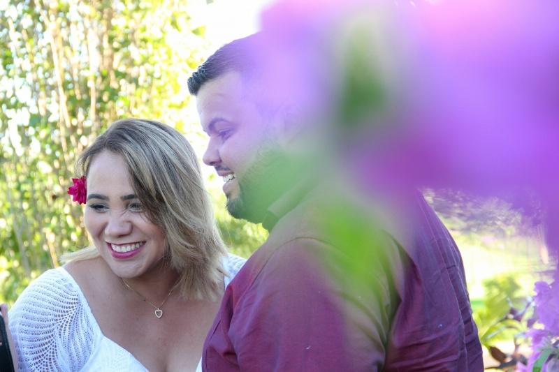 Making off do casal Carla e Lucas é o destaque no social da semana