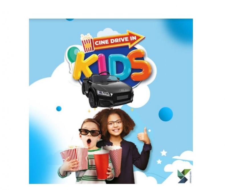 Cine Drive-in Kids é atração no Jaraguá comemorações do Dia das Crianças
